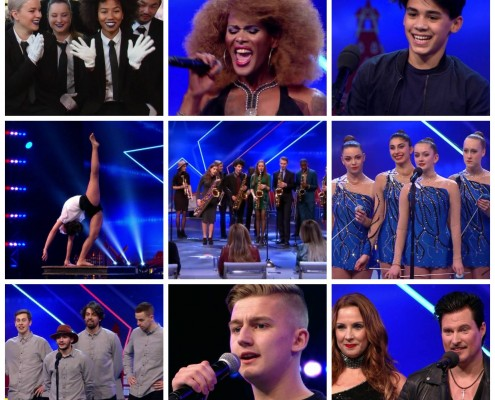Hollands got talent friends Crw