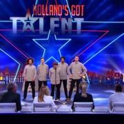 Friends crw Hollands got talent